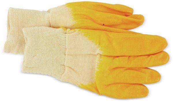 Nitril-Arbeitshandschuhe, EN420, Größe 8, gelb