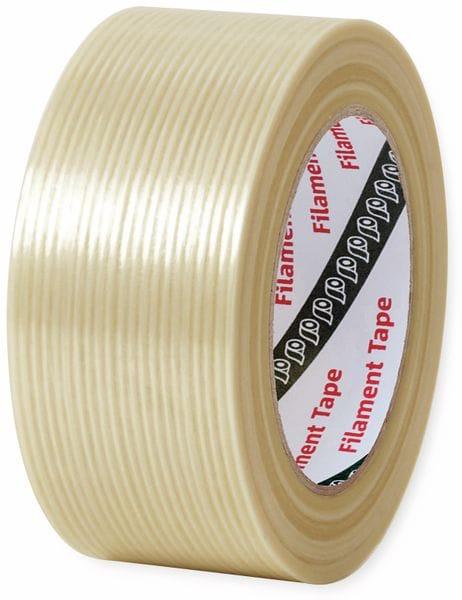 Glasfaser-Klebeband Gerband 480, 50 mm, 50 m, transparent