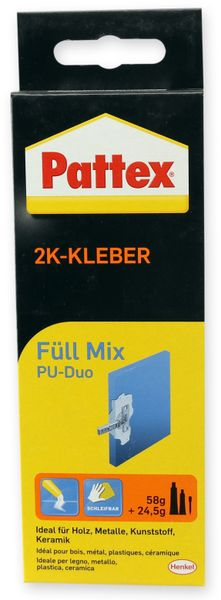 Kleber PATTEX, Powerkleber Füll Mix, 82,5g