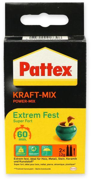 Kleber PATTEX, Kraft-Mix extrem Fest Tube, 2x12g