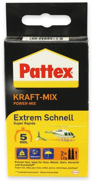 Kleber PATTEX, Kraft-Mix extrem schnell , 2x12g
