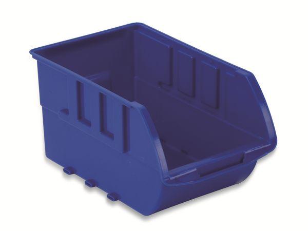 Stapelsichtbox DAYTOOLS RK-1031, 23-teilig, stapelbar, blau/rot - Produktbild 2
