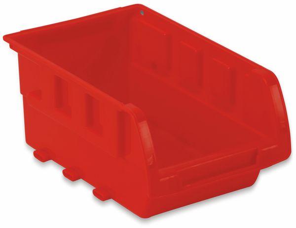 Stapelsichtbox DAYTOOLS RK-1031, 20-teilig, stapelbar, blau/rot - Produktbild 6