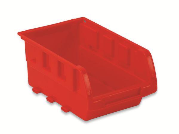 Stapelsichtbox DAYTOOLS RK-1031, 23-teilig, stapelbar, blau/rot - Produktbild 6