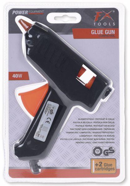 Heißklebepistole, 40 W, 2 Klebesticks