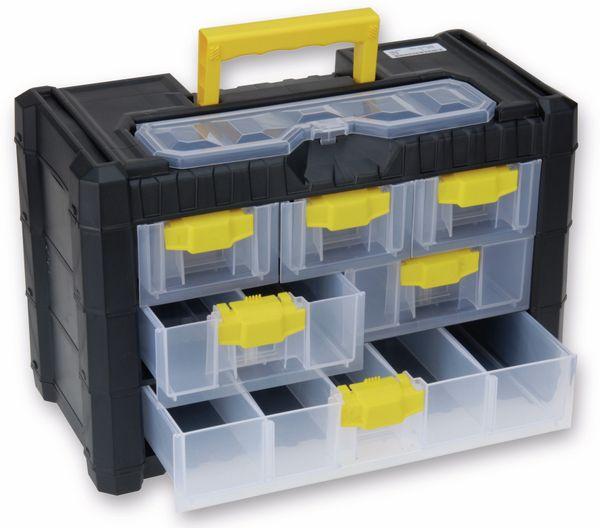 Aufbewahrungsbox, 6 Schubladen, 200x400x260 mm