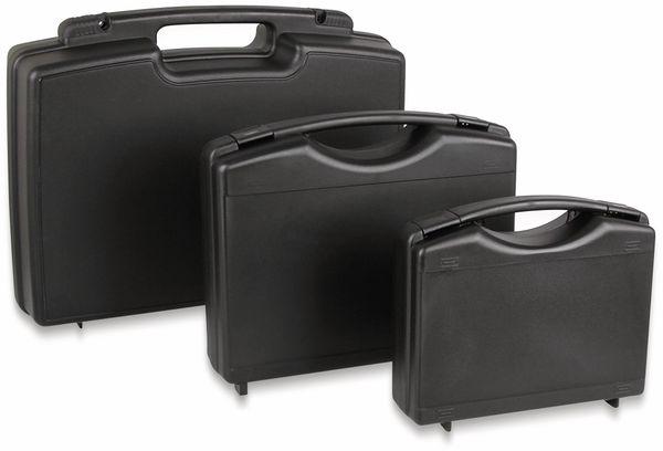 JOY-IT Kleiner Mehrzweckkoffer aus Kunststoff, schwarz, 225x210x70 mm