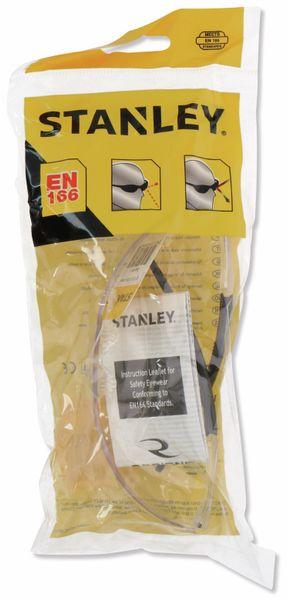 Schutzbrille STANLEY, 1D clear PC Frameless, EN 166 - Produktbild 2