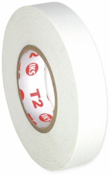 PVC Isolierband, IKS E91, 19mm, 33m, weiß