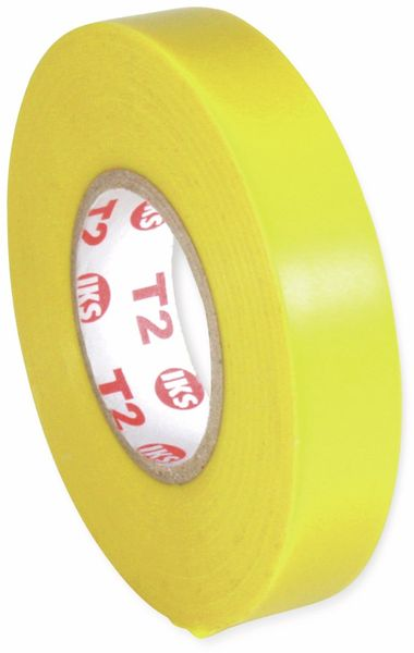 PVC Isolierband, IKS E91, 19mm, 33m, gelb