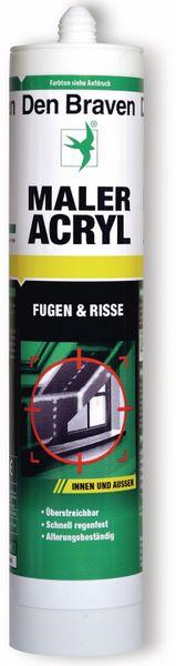 Maler Acryl DEN BRAVEN, grau, 300 ml