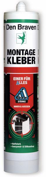 Montagekleber DEN BRAVEN Einer für Alles, grau, 290 ml