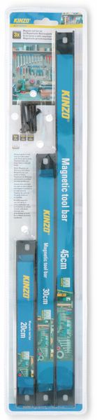 Magnetischer Werkzeughalter KINZO, 3 Stück, 45/30/20 cm