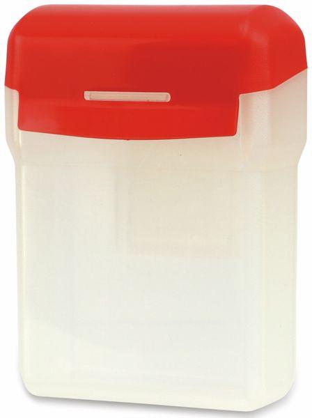 Kunststoffbox mit Gürtelclip, 12x9x5 cm