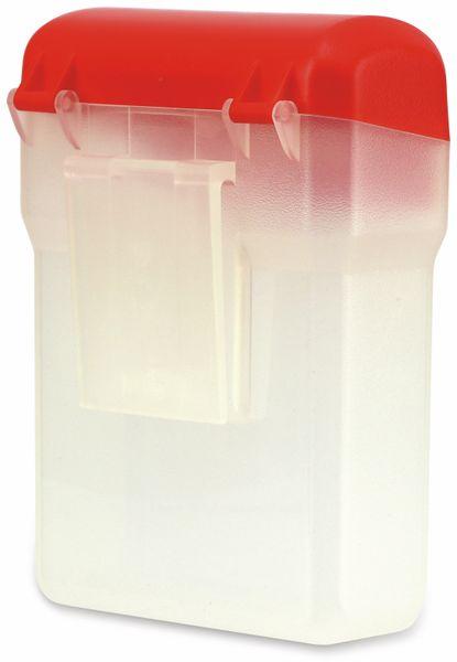 Kunststoffbox mit Gürtelclip, 12x9x5 cm - Produktbild 3