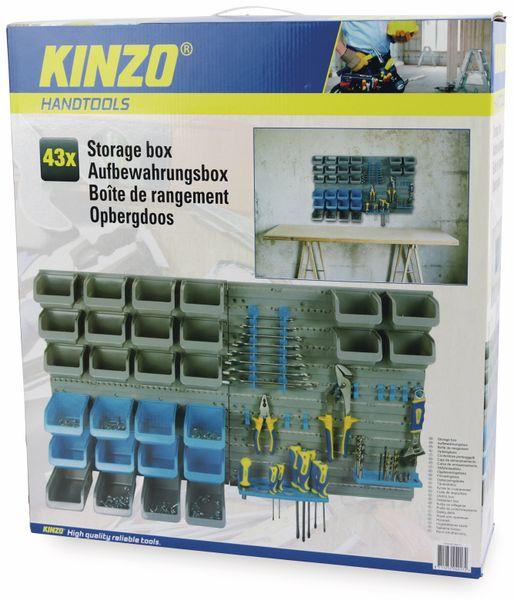 Stapelsichtbox KINZO, 43-teilig - Produktbild 3