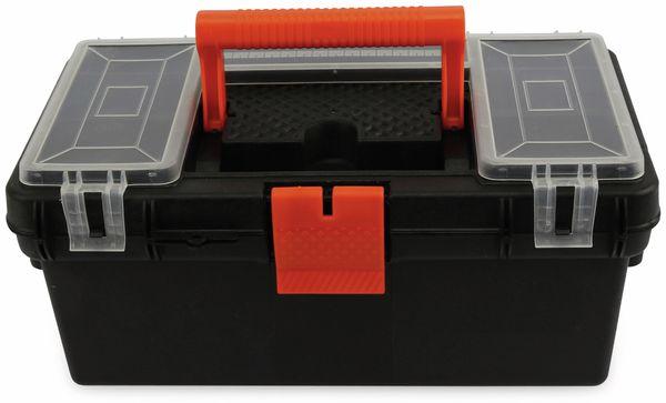 Werkzeugkiste mit Fächern im Deckel, 360x210x165 mm