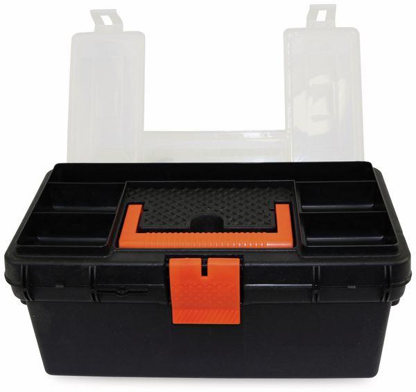 Werkzeugkiste mit Fächern im Deckel, 360x210x165 mm - Produktbild 2