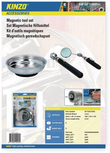 Magnetschale-Kombi-Set KINZO, 3-teilig - Produktbild 3
