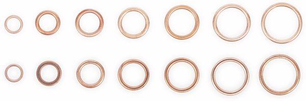 Sort. O-Ring, BGS, 9313, Kupfer, Ø6...20 mm, 95-tlg - Produktbild 2