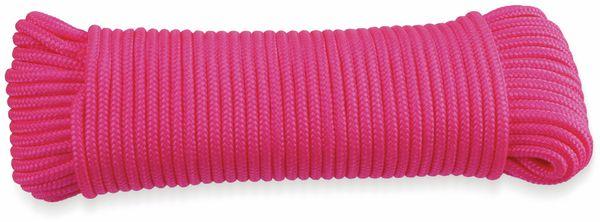 Seil, Kunstfaser, fluoreszierend, 4,8 mm, 30 m, verschiedene Farben - Produktbild 2