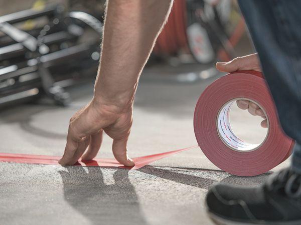 Isolierband, HellermannTyton, 712-00201, HelaTapeFlex15, rot, 19mmx10m - Produktbild 3
