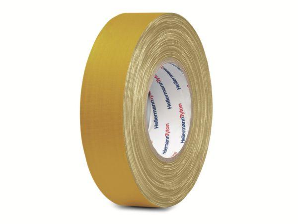 Isolierband, HellermannTyton, 712-00202, HelaTapeFlex15, gelb, 19mmx10m