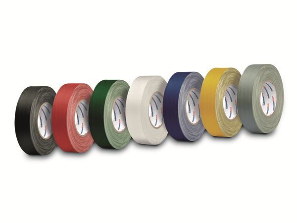 Isolierband, HellermannTyton, 712-00206, HelaTapeFlex15, grau, 19mmx10m - Produktbild 2