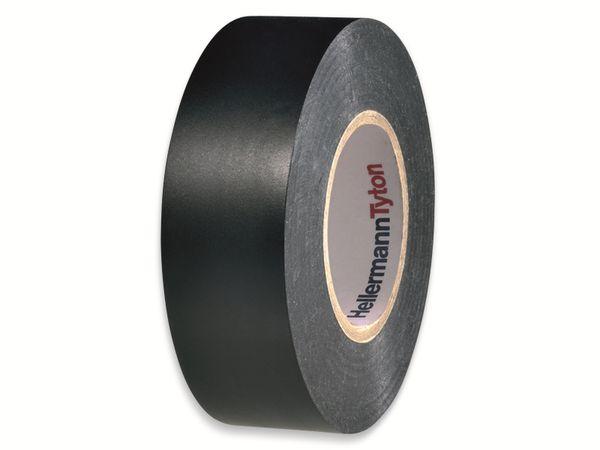 Isolierband, HellermannTyton, 710-00155, HelaTapeFlex15, schwarz, 19mmx20m