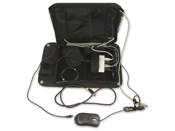 Tasche mit USB-Hub und optischer Maus, B-Ware