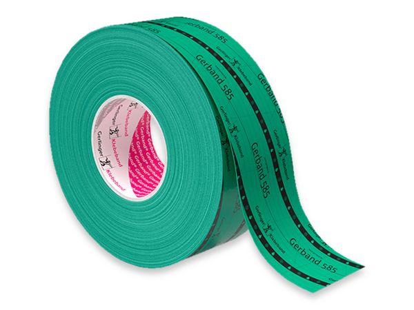 Polyethylen-Klebeband GERBAND 585 grün, 50 mm x 25 m