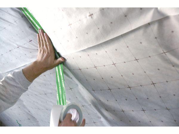 Polyethylen-Klebeband GERBAND 585 grün, 50 mm x 25 m - Produktbild 2