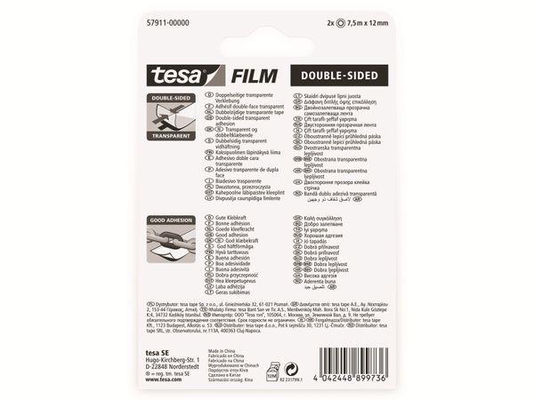 tesafilm® doppelseitig, 2 Rollen, Blister, 7,5m:12mm, 57911-00000-01 - Produktbild 6