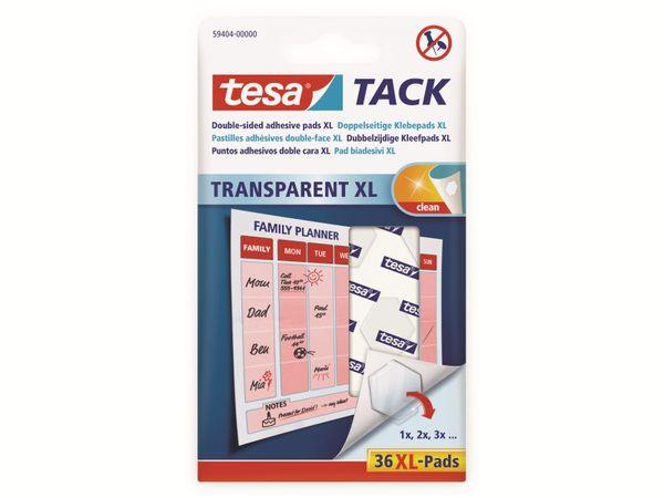tesa Tack® Doppelseitige Klebepads XL, 36 Stück, 59404-00000-00