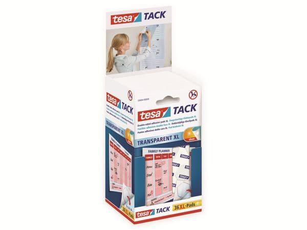 tesa Tack® Doppelseitige Klebepads XL, 36 Stück, 59404-00000-00 - Produktbild 4