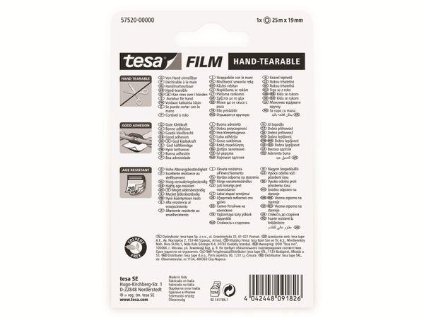 tesafilm® einreißbar, 1 Rolle, 25m:19mm, 57520-00000-02 - Produktbild 7