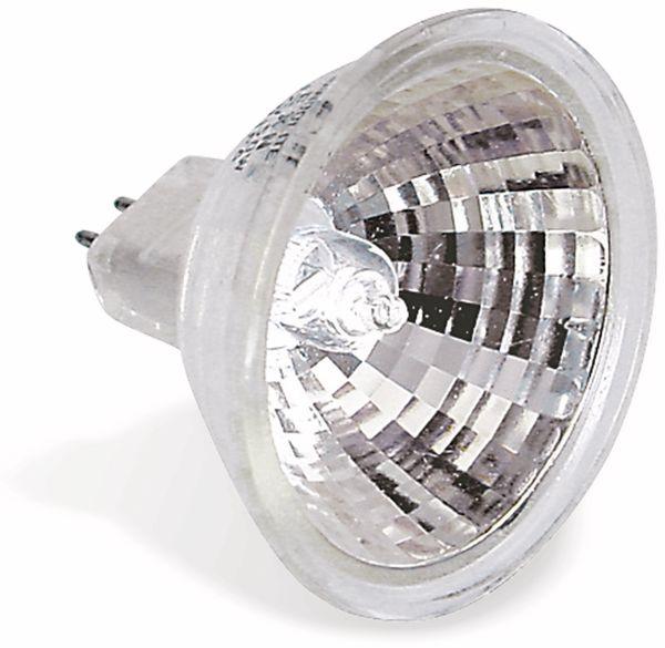 Halogen-Spiegellampe, G5,3, EEK: C, 50 W, 650 lm, 3000 K, MR16