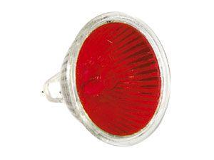 Halogen-Spiegellampe, MR16, rot