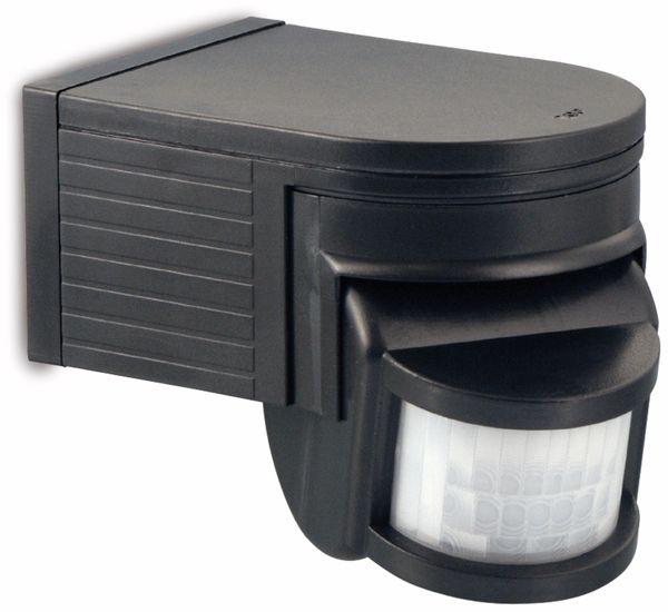 Infrarot-Bewegungsmelder, 180°, schwarz