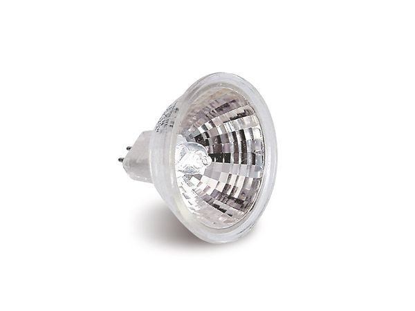 Halogen-Spiegellampe, G5,3, EEK: B, 20 W, 236 lm, 3000 K, MR16, 2 Stück