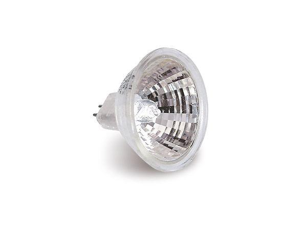 Halogen-Spiegellampe, G5,3, EEK: B, 35 W, 500 lm, 3000 K, MR16, 2 Stück