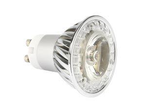 LED-Spiegellampe, GU10, 1 W