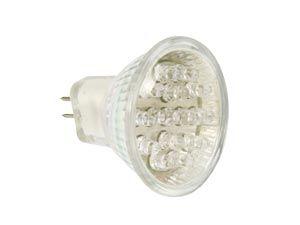 LED-Spiegellampe MR11, 12 V-, 1 W