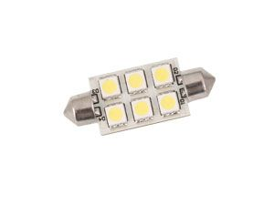 LED-Soffittenlampe, 42 mm, 8..30 V-, 1,3 W