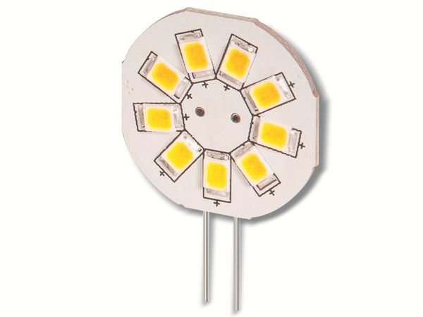 LED-Lampe, G4, 12 V-/~, 1,5 W, 130 lm, tageslicht weiß - Produktbild 1