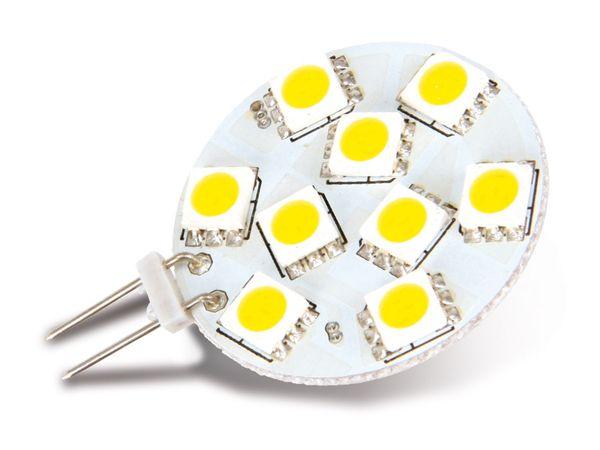 LED-Lampe, G4, 12 V-/~, 2 W, warmweiß