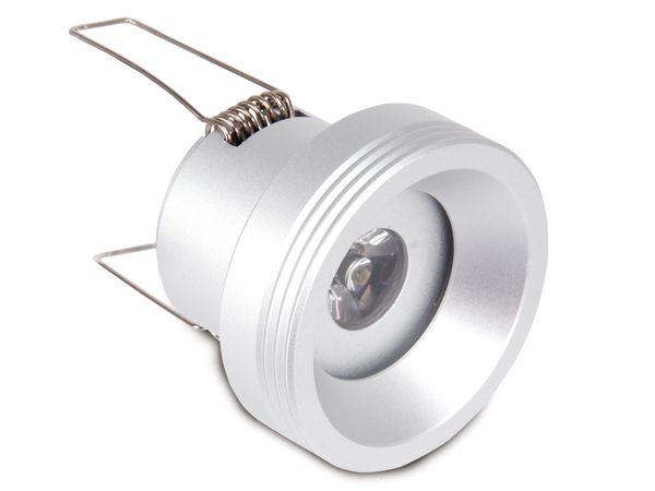 Alu Decken-Einbauleuchte AX-I, 1 W LED - Produktbild 1
