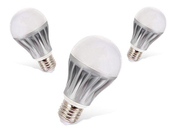 LED-Lampe DAYLITE G-E27-510K, 6 W, 510 lm, 3 Stück