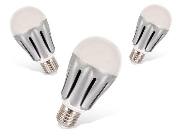 LED-Lampe DAYLITE G-E27-1100K, 12 W, 1100 lm, 3 Stück.