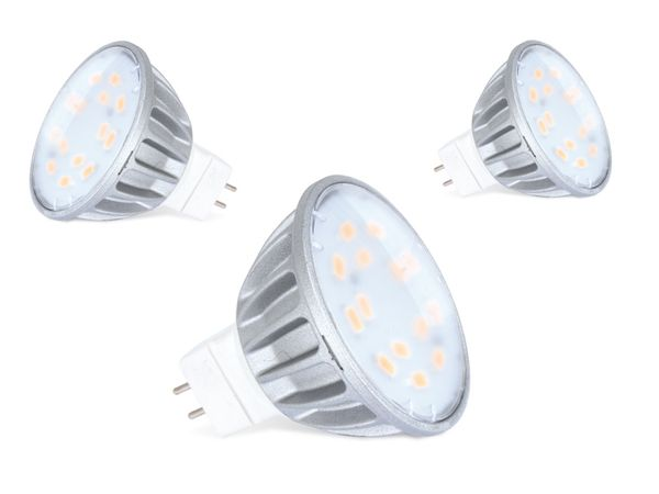 LED-Spiegellampe DAYLITE MR16-250W, 3,5 W, 3000k, 250 lm, 3 Stück - Produktbild 1